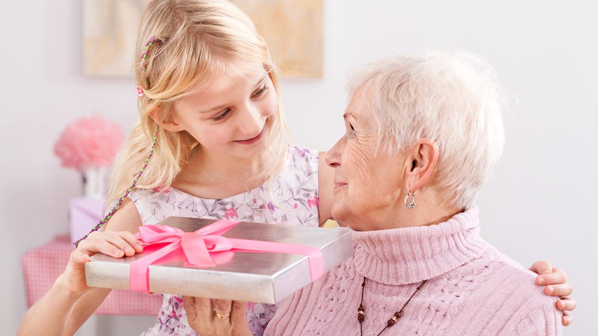 Подарок из фото бабушке